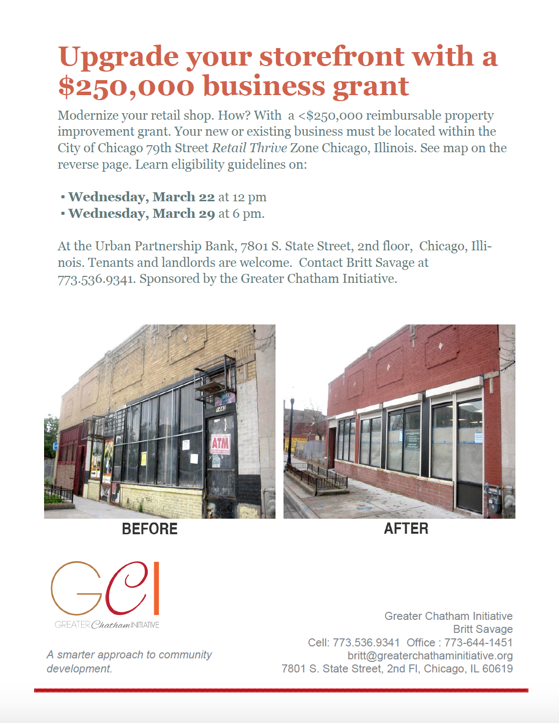 Retail Thrive - The Greater Chatham Initiative on