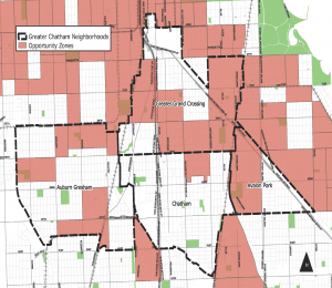 Opportunity zone map