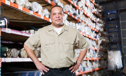 Image of warehouse manager